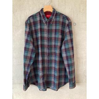 Supreme - シュプリーム ウールシャツ ネルシャツ