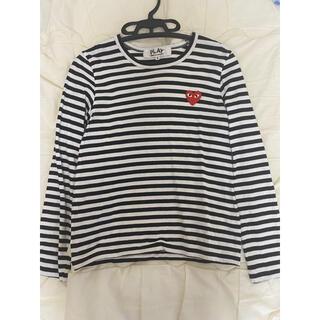 コムデギャルソン(COMME des GARCONS)のPLAY COMME des GARÇONS  コムデギャルソン tシャツ(Tシャツ(長袖/七分))