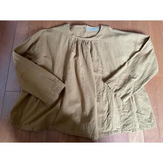 サンバレー(SUNVALLEY)のSUN VALLEY ブラウンシャツ(シャツ/ブラウス(長袖/七分))