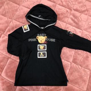 ピンクハウス(PINK HOUSE)のベビーピンクハウス パーカーTシャツ Sサイズ(ワンピース)