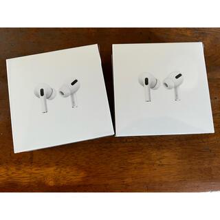 Apple - 【新品未開封/2個】Apple Airpods pro エアポッツプロ アップル