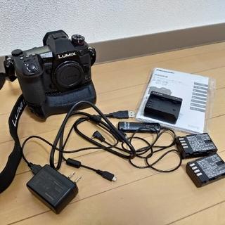 Panasonic - Panasonic G9 PRO 本体 バッテリーグリップ バッテリー ストロボ
