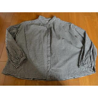 サンバレー(SUNVALLEY)のSUN VALLEY ギンガムチェックシャツ(シャツ/ブラウス(長袖/七分))