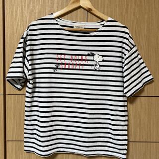 スヌーピー(SNOOPY)のtシャツ サイズLL(Tシャツ(半袖/袖なし))
