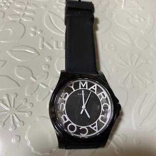 マークバイマークジェイコブス(MARC BY MARC JACOBS)のマークバイマークジェイコブス 腕時計 スケルトン ブラック(腕時計)