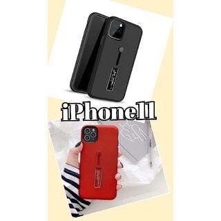 iPhone - iPhone11 スマホケース ブラック 薄型 軽量 TPU素材 新品未使用