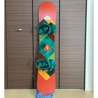 ROME SDS - スノーボード ROME SDS 134cm 3点セット レディース