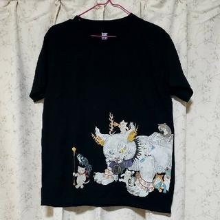 Design Tshirts Store graniph - graniph 鬼子母猫百号 (石黒亜矢子) |コラボTシャツ