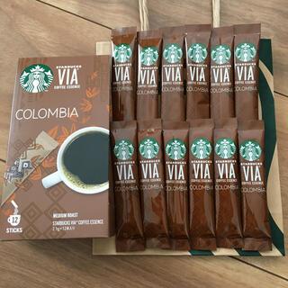 Starbucks Coffee - スターバックス VIA COLOMBIA 12本