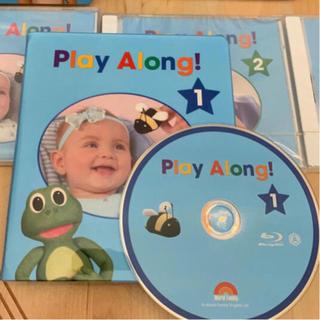 最新版 プレイアロング ブルーレイ BD CD ディズニー英語システム DWE