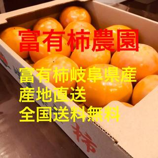 富有柿 岐阜県産地直送 ②L〜2L