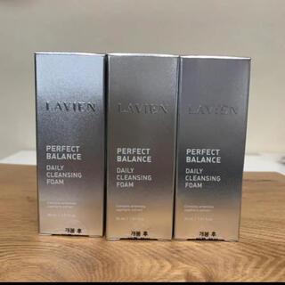 LAVIEN パーフェクトバランスデイリークレンジングフォーム30ml×3本