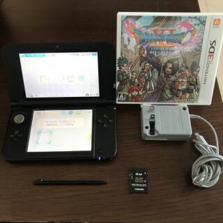 ニンテンドー3DS - 任天堂3DSLL 本体 充電器 東芝製4GBメモリカード + ドラゴンクエストⅪ