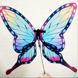 クリアタイプ蝶々 髪飾り (小道具)