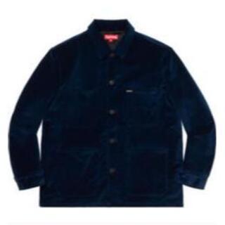 Supreme - supreme velvet chore coat