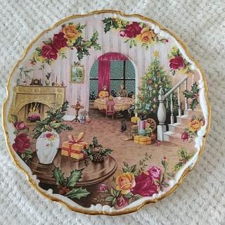 ロイヤルアルバート(ROYAL ALBERT)のロイヤルアルバート オールドカントリーローズ クリスマス プレート 飾り皿 (食器)