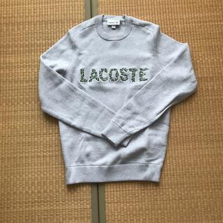 ラコステ(LACOSTE)のLACOSTE 『Croco Magic』クルーネックニットセーター(ニット/セーター)