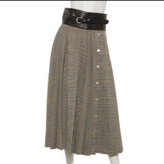 マイストラーダ(Mystrada)の新品未使用♡フロントプリーツフレアスカート(ロングスカート)