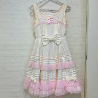 Angelic Pretty - アンジェリックプリティ ジャンパースカート リボン