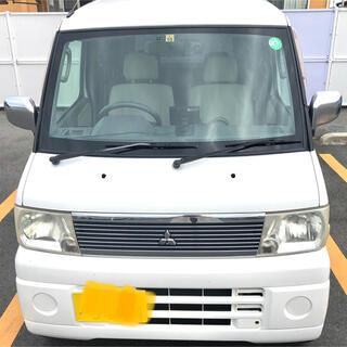 三菱 - 三菱タウンボックス 車検4年10月 キーレス、社外オーディオ、ナビ、ドラレコ
