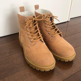 エイチアンドエム(H&M)のブーツ (ショート/レースアップ)23.5cm(ブーツ)