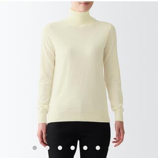 ムジルシリョウヒン(MUJI (無印良品))の無印良品 タートルネック洗えるセーター(ニット/セーター)