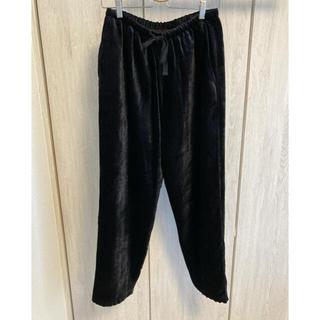 コモリ(COMOLI)のCOMOLI シルク別珍 ドローストリングパンツ サイズ2 コモリ(その他)