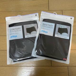 UNIQLO - 新品 ユニクロ 吸水サニタリーショーツ 2枚セット