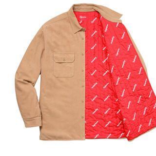 Supreme - supreme Corduroy Quilted Shirt