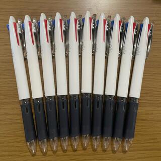 ゼブラ(ZEBRA)の【未使用セット】3色ボールペン10本セット(ペン/マーカー)