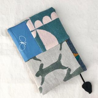 ミナペルホネン(mina perhonen)のハンドメイド ミナペルホネン A6サイズ手帳カバー(カレンダー/スケジュール)