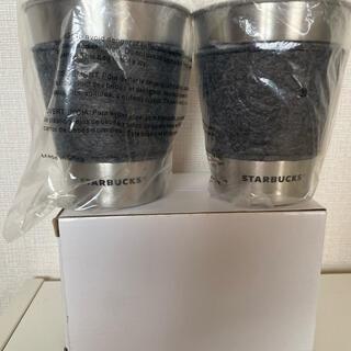 スターバックスコーヒー(Starbucks Coffee)のスターバックス ステンレス製カップ 2017年福袋 【新品未使用】(タンブラー)