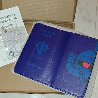 BANDAI - ガンダム  バッテリー内蔵スマホケース ジョージア グフ スマホカバー シャア
