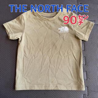 THE NORTH FACE - ノースフェイス⚪︎Tシャツ 90センチ カーキ