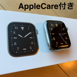 Apple Watch - アップルケア付き Apple Watch  series5 チタニウム 44mm