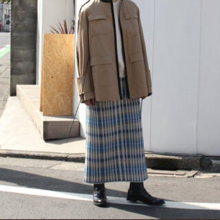 HYKE - オーラリーauraleeのニットスカート!ゴムウエスト