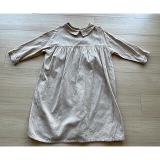 こども ビームス - 韓国子供服 SCON バックボタンワンピース size120〜130
