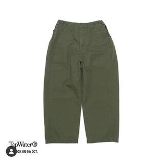 コモリ(COMOLI)のTap Water Cotton Ripstop  Trousers(ワークパンツ/カーゴパンツ)