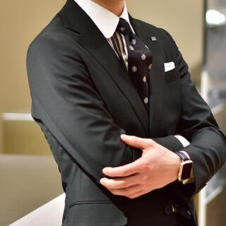 THE SUIT COMPANY - 【CLASSICO TAPERED】ダークグリーン スリーピース AB6