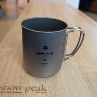Snow Peak - スノーピーク チタンシングルマグ300 美品