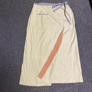 フェリシモ(FELISSIMO)の【美品】フェリシモ 巻きスカート(ロングスカート)