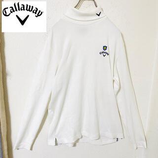 Callaway - Callaway キャロウェイ タートルネック フリース インナー メンズ L