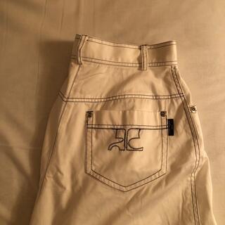 ロキエ(Lochie)のcourreges White pants(ハーフパンツ)