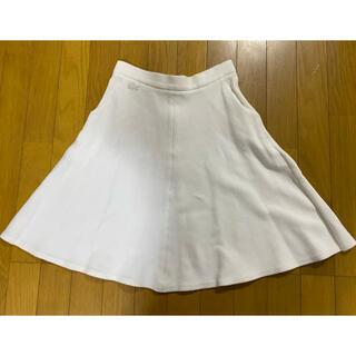 ラコステ(LACOSTE)のラコステ スカート 美品(ひざ丈スカート)