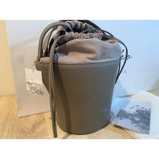 新品未使用タグ付き Ayako Pottery Bag トープ