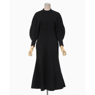 mame - mame コットンワンピース ドレス ブラック サイズ2