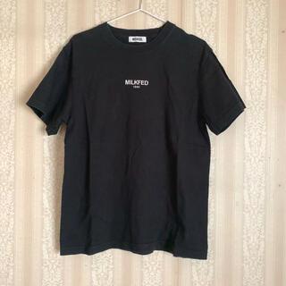 MILKFED. - MILKFED ミルクフェド ロゴ Tシャツ