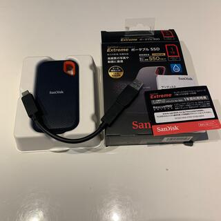 SanDisk - SanDisk エクストリーム ポータブル SSD SDSSDE60-1T00-