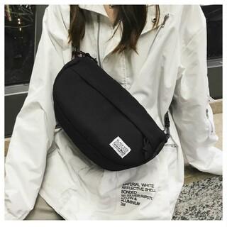 ブラック メッセンジャーバッグ 斜め掛け キャンバス 帆布 ショルダーバッグ