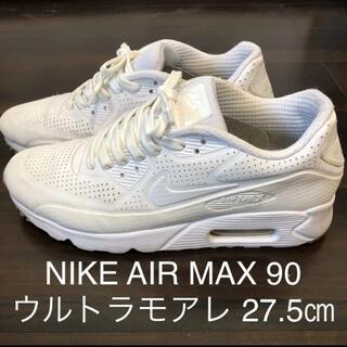 NIKE - NIKE ナイキ エアマックス 90 ULTRA MOIRE リフレクター 白